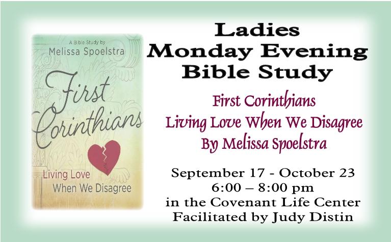 Ladies Monday Night Bible Study Details